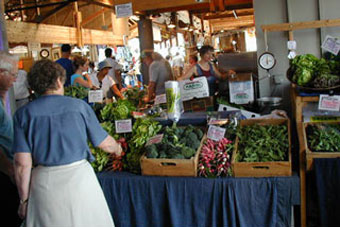 Whittier Farm at Farmers' Markets